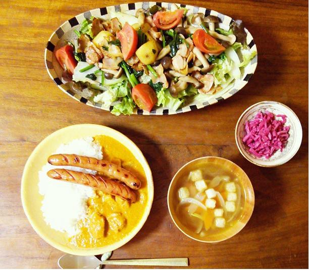 工藤静香 インスタ 料理